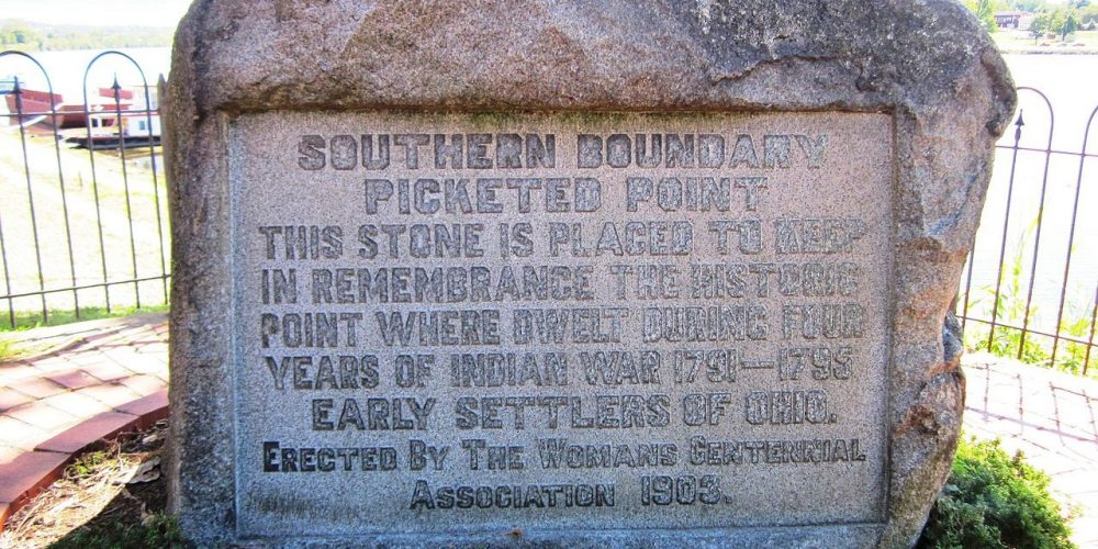 Picketed Point Marker